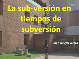 YANGALI VARGAS, Jorge