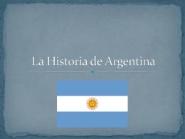 La Historia de Argentina