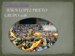 Cultura china JESUS LOPEZ PRIETO GRUPÓ 208