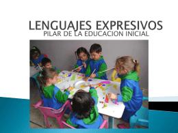 LENGUAJES EXPRESIVOS - estrategias educativas