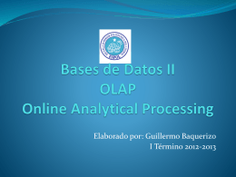 Material de Bases de Datos II
