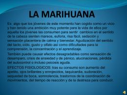 LA MARIHUANA