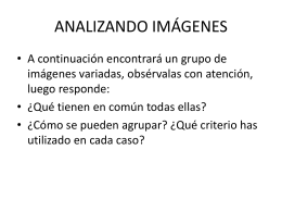 ANALIZANDO IMÁGENES - Cambridge College Secondary Religion