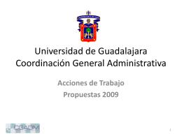 Coordinación General Administrativa