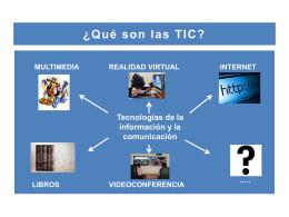 Sobre TIC y competencia digital