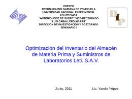 Diapositiva 1 - Seminario-I