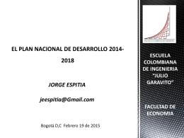 Presentación_Financiación PND 2014-2018_Jorge
