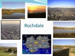 Wardle -mi pueblo en Rochdale