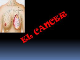 Origen del cáncer - TIC3-301