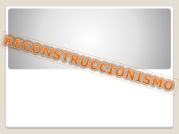 RECONSTRUCCIONISMO+FUND+EDU