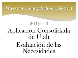Wasatch School District - Wasatch County School District