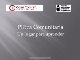 Plaza Comunitaria - Cobb County ESOL