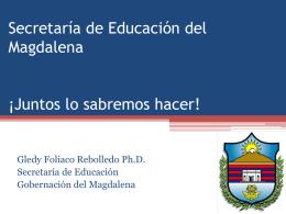 Secretaría de Educación del Magdalena