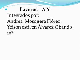 LLAVEROS A.Y. - mundotecnologicodeandrea