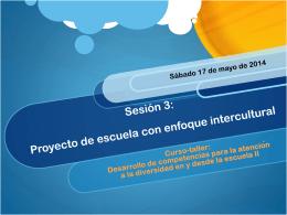 Sesión 3 curso - Curso-taller Desarrollo de las competencias