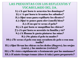 Fly in questions with reflexives