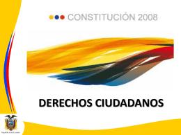 DERECHOS CIUDADANOS