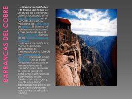 Barrancas del Cobre - turismomexicanoequipo2esca