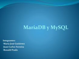 MySQL - ABD-UCV-Computacion