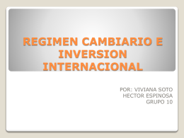 regimen cambiario (1) - portafolio negocios internacionales