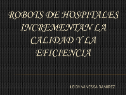 ROBOTS DE HOSPITALES - Over-blog