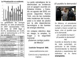 Diapositiva 1 - Coalición SME