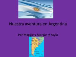 Nuestra aventura en Argentina