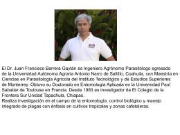 Currículum - CINVESTAV Unidad Mérida