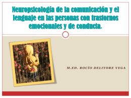 Neuropsicología de la comunicación y el lenguaje en las personas