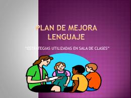 Estrategias Lenguaje.