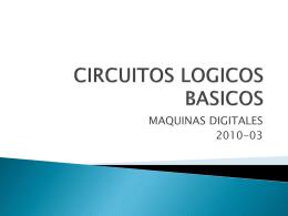 CIRCUITOS LOGICOS BASICOS