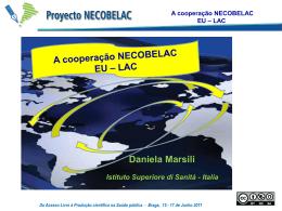 Daniela Marsili: A cooperação NECOBELAC EU-LAC