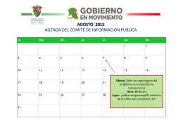 Unidad de Información Publica - H. Ayuntamiento de Cd. Valles, SLP