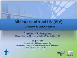 Pon BiV - Clavijero 01 06 10