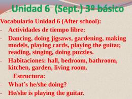 Presentación N° 6 (Septiembre)