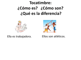 Tocatimbre: ¿Cómo es? ¿Cómo son? ¿Qué es la diferencia?