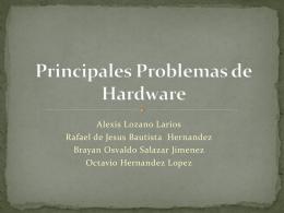 Principales Problemas de Hardware (530101)