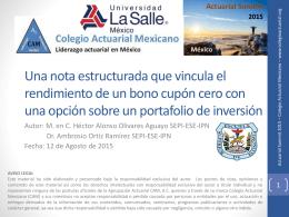 B - Colegio Actuarial Mexicano