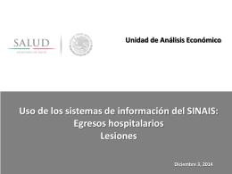 Diapositiva 1 - Servicios Estatales de Salud