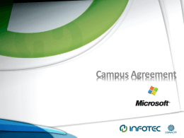 Campus Agreement