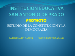 INSTITUCIÓN EDUCATIVA SAN ANTONIO DE