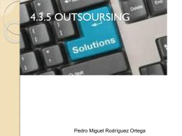 OUTSOURSING PEDRO