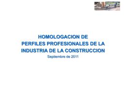 ARGENTINA: Certificación de competencias laborales