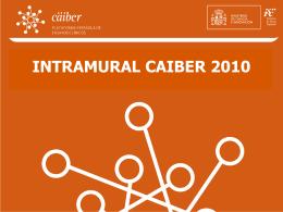 Intramural Caiber 2010 - IMIM Servicio de Autenticación Central
