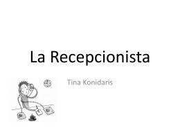 La Recepcionista