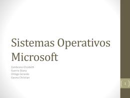 Sistemas Operativos Microsoft - 3262