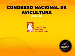 Diapositiva 1 - Asociación Peruana de Avicultura