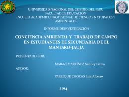 Presentación de PowerPoint - Facultad de Educación