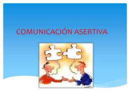 COMUNICACIÓN ASERTIVA MARTHA TORRES