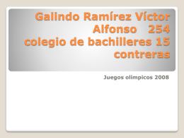 Galindo Ramírez Víctor Alfonso 254 colegio de